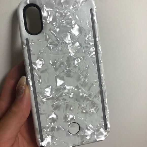 low priced 52b3b 0ef54 Diamond iPhone X LuMee case